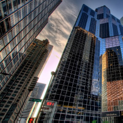 reflejos edificio oficinas gloval