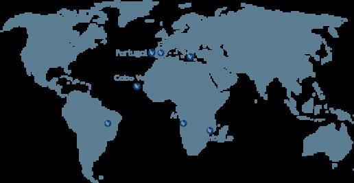 mapa oficinas gloval internacional