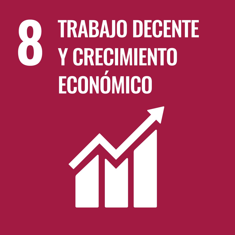 trabajo decente y crecimiento economico