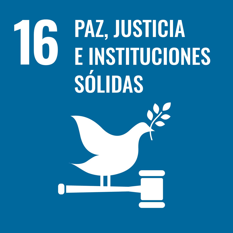 paz justicia e instituciones solidas